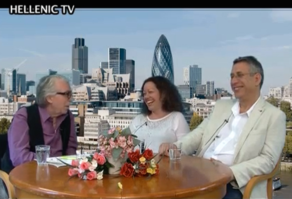 Omilos' Interview on the Hellenic TV Channel of London