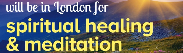 Omilos will be in London for Spiritual Healing and Meditation (01-03/02/2019)