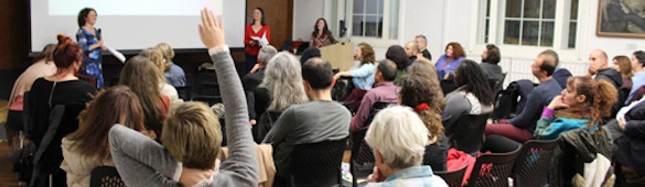 """""""Revealing the Hidden Wisdom of Poetry"""" – Our literature event at Morley College London(08-11-2019)"""